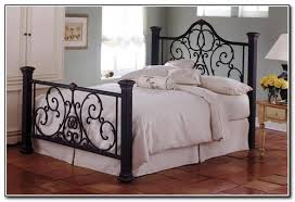 Iron Rod Bed Frame Charming Wrought Iron Bed Frames Home Inspired 2018