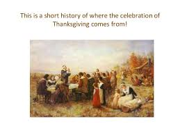 thanksgiving in the usa