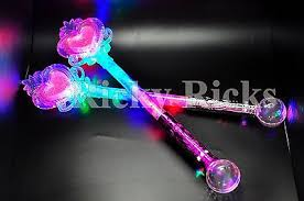 light up princess wand light up princess wand frozen crystal led heart fairy magic scepter
