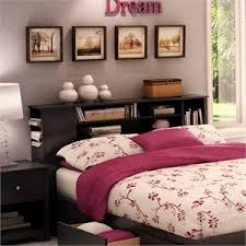 Zayley Full Bookcase Bed Full Size Bookcase Headboards Cymax Stores