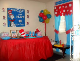 Dr Seuss Decorations Cat In The Hat Birthday
