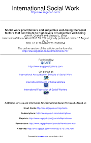 cgi si e social social work practitioners and subjective pdf available