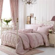 Pale Pink Duvet Cover Dorma Pale Pink U0027elizabeth U0027 Bed Linen Double Duvet Cover Amazon