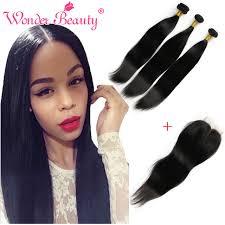 top hair vendors on aliexpress best brazilian hair vendors brazilian straight hair with closure 3