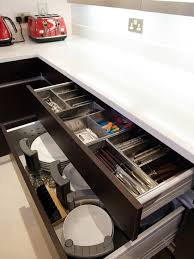 Cabinet Drawer Inserts Cabinets Contemporary Kitchen Drawer Inserts Are Great Option For