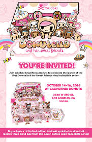 Where To Buy Blind Boxes Donutella And Her Sweet Friends Release At California Donuts Oct