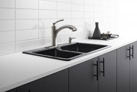 faucet for kitchen introducing the new cardale and elliston faucet by kohler dig