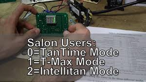 setting timer parameters on a 2 button esb tanning bed timer youtube