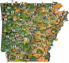 state of arkansas map mapping arkansas