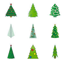 8 christmas tree icon packs vector icon packs svg psd png