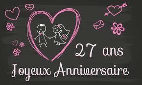 27 ans de mariage mariage 27 ans de mariage