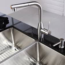 stainless steel kitchen sink combination kraususa com discontinued 33 inch undermount double bowl stainless steel kitchen sink with kitchen faucet and soap