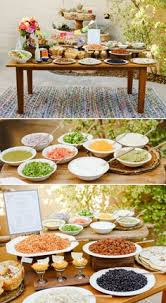 Large Party Dinner Ideas - taco bar party menu ideas taco bar party for 20 taco bar party