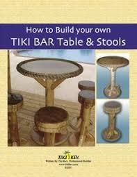 How To Build Tiki Hut How To Build A Backyard Tiki Bar Bar Plans Tiki Bars And