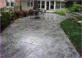 Backyard Stamped Concrete Patio Ideas Slate Stamped Concrete Patio Lammy Pinterest Stamped