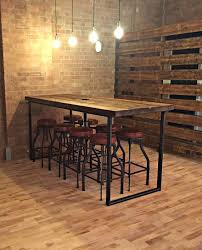 Homemade Bar Top Best 25 Bar Tables Ideas On Pinterest Bar Table And Stools