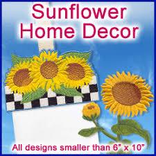 Sunflower Home Decor Machine Embroidery Designs At Embroidery Library Embroidery Library