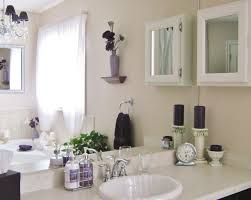 Country Home Bathroom Ideas Bathroom Vanity Decorating Ideas Everybody Can Try Brown Varnished