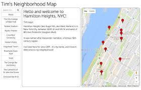 Nyc Neighborhoods Map Github Timmyneutron Fend Neighborhood Map Udacity Front End