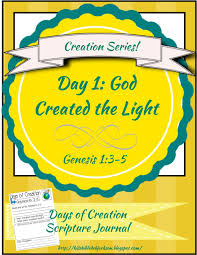 bible fun for kids the creation for kids day 1