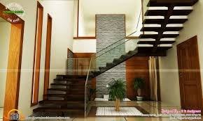 interior decorating deas for staircase designs in kerala image