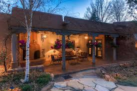 Patio Santa Fe Mexico by Main House Plus 3 Guest Casitas A Luxury Home For Sale In Santa