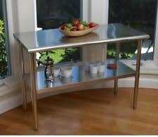 kitchen island steel stainless steel kitchen island ebay
