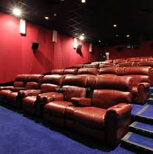 Sofa Movie Theater by Leadcom Luxury Leather Electric Vip Movie Theater Reclining Sofa