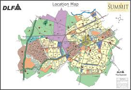 Gurgaon India Map by Location Map Of Dlf The Summit Dlf The Summit Gurgaon