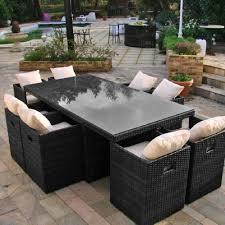 canape de jardin en resine tressee pas cher mobilier de jardin en résine tressée table jardin promo inds à