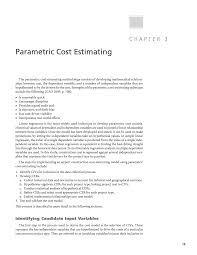 Detailed Construction Cost Estimate Spreadsheet Chapter 3 Parametric Cost Estimating Airport Capital