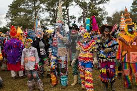 traditional cajun mardi gras costumes cajun courir de mardi gras chicken run tuesday celebration