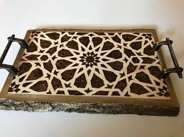 decorative tray mamluk art syrian art medieval islamic art
