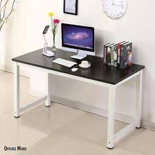 Black Computer Desk Contemporary Desks U0026 Home Office Furniture Ebay