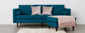 Chenille Reclining Sofa by Sofa Turquoise Sofa For Luxury Mid Century Sofas Design Ideas