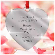 valentines day gifts for husband personalised valentines day engagement gifts for fiance engaged
