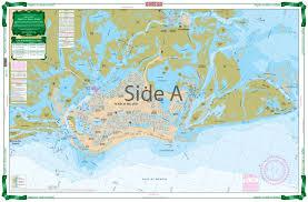 Marcos Island Florida Map Naples To Marco Island Large Print Navigation Chart 41e