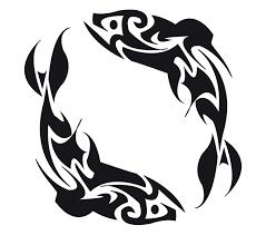 tribal fish tattoos design
