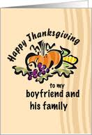 thanksgiving cards for boyfriend from greeting card universe
