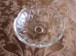 ricambi per ladari antichi coppa coppetta vetro cristallo originale per ricambi restauro