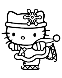 first day of winter coloring page