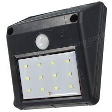 motion sensor light not working 12 led solar powered pir motion sensor light outdoor garden security