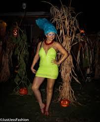 Nasty Halloween Costume Big Hair Don U0027t Care Halloween Marge Simpson Jess
