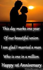 wedding wishes to husband happy 1st anniversary wedding anniversary quotes