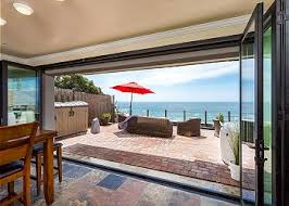 Beachfront Cottage Rental by Beachfront Only Vacation Rentals California Beach House Rentals