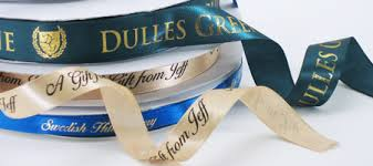 custom single satin roll ribbon