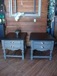Repainting Wrought Iron Furniture by These Two Matching End Tables Were Painted In Maison Blanche
