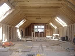 truss roof loft conversion 2 modern end terrace house youtube
