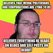 Meme Blogs - believes that media politicians and corporations are lying to us