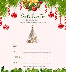 christmas party invitation template christmas invitation template and wording ideas christmas
